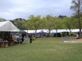 Ceramic fair in 陶芸の森
