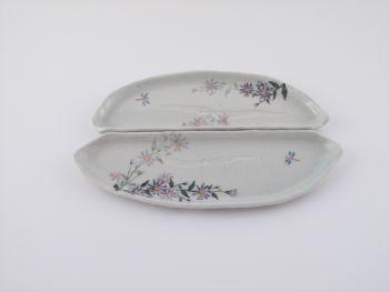 風花の合わせ皿(野菊)
