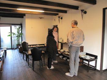 ギャラリー Café Cozy 展示風景(1)