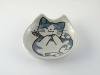 【写真】風花の猫小皿