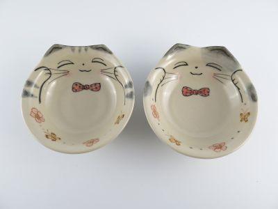 猫耳高台平鉢-5